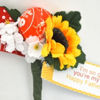 Father's Day: I'm So Glad You're My Pop! Boutonnieres