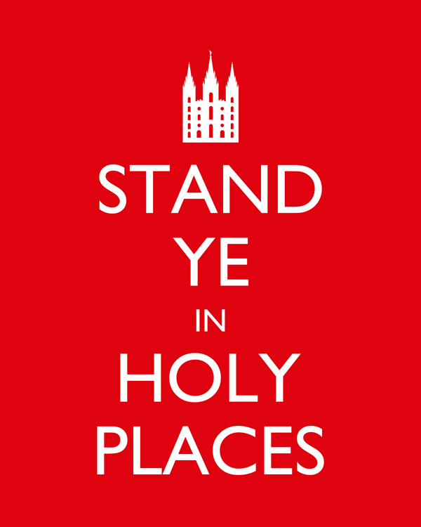stand ye in holy places ideas lds | just b.CAUSE