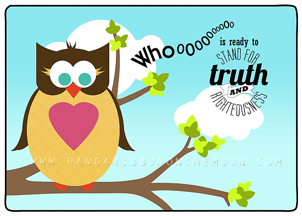 Young Women in Excellence: Whooo Is Ready to Stand for Truth and Righteousness?