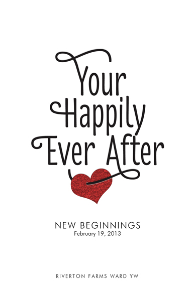 Happily Ever After Program Cover Front