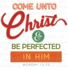 2014 Mutual Theme Logos: Come Unto Christ