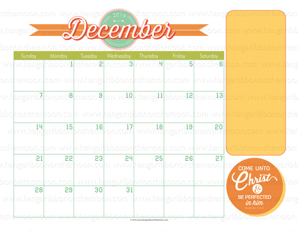 2014 Mutual Theme Calendar: quick and easy to edit PDF and JPEG files ...