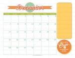 2014 Mutual Theme Calendar