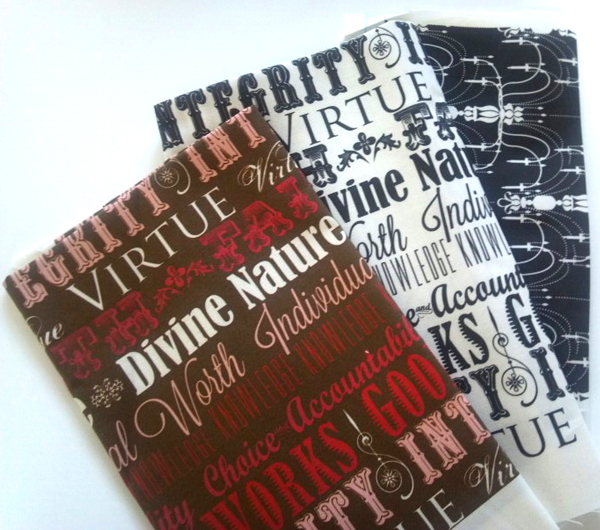 Young Women Values Fabric