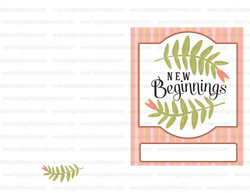 Free download! Program covers for New Beginnings, Young Women in Excellence and more! Blank option included. Editable PDF files!