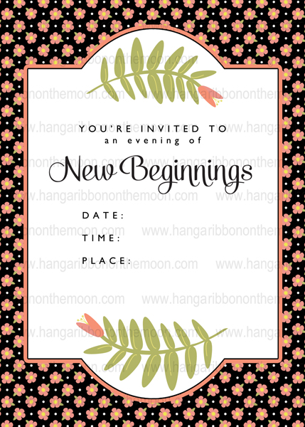 Free! 4x6 & 5x7-inch Photo Invitations for New Beginnings, YWIE, Activity Days, Relief Society and more!