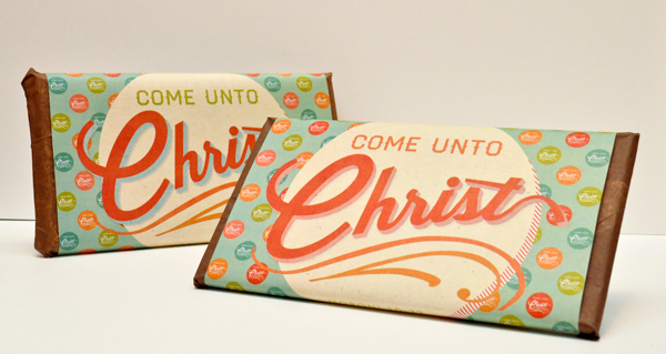 Come Unto Christ 2014 Mutual Theme Candy Bar Wrappers for YW & YM. Perfect for Youth Conference, Girls Camp, YWIE, New Beginnings, Personal Progress, etc. Free Downlaod!
