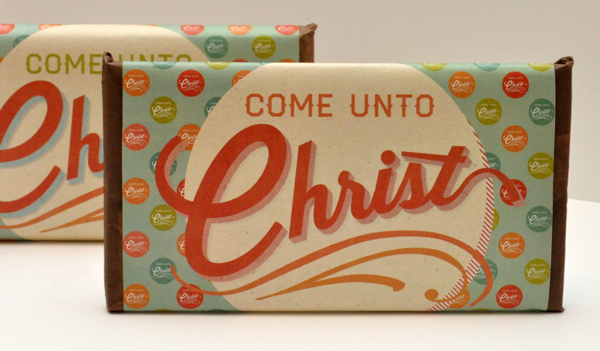 Come Unto Christ 2014 Mutual Theme Candy Bar Wrappers. Free Download!
