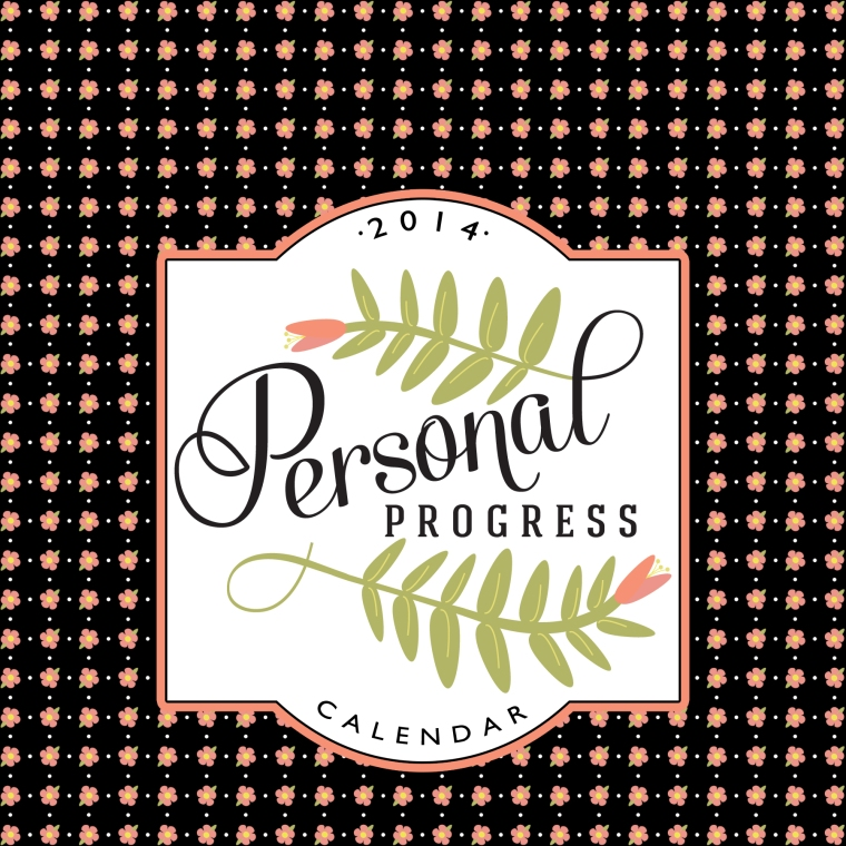 2014 Personal Progress Calendar Bonus Covers. Adapt this calendar to Activity Days and Relief Society.