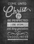 2014 Mutual Theme Come Unto Christ Posters [Four Sizes]
