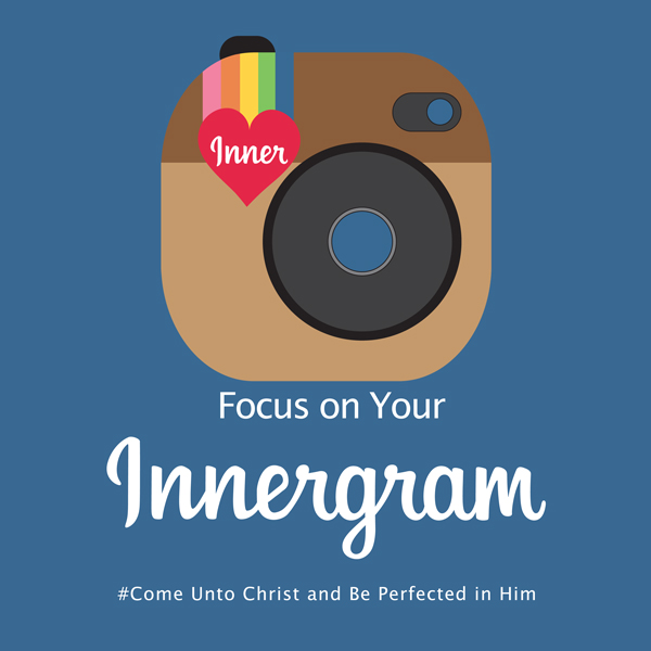 Focus on Your Innergram: Print & Cut Invites. Great for New Beginnings, YWIE, Girls Camp, Youth Conf. Tons of FREE Printables!