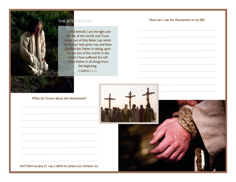 Come Unto Christ: Easter Thoughts and Inspiration Booklet. Now in 8.5x11 AND A4 sizes! Free Download!