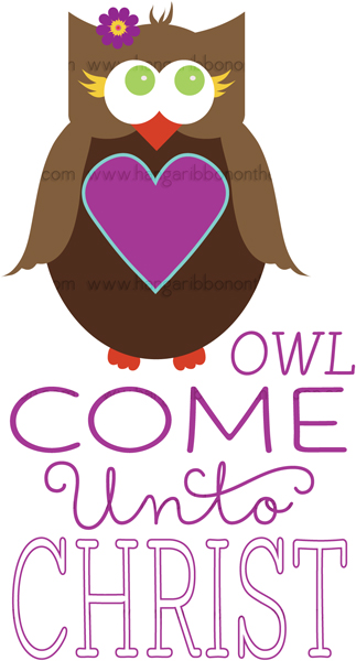 YW Personal Progress V{owl}ues Come Unto Christ Logos: FREE download!