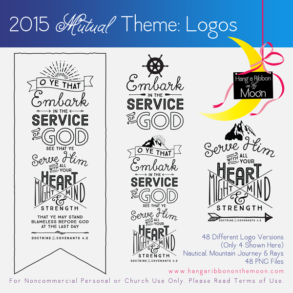 2015 Mutual Theme Logos! 48 different versions. Free download!