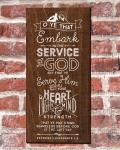 2015 Mutual Theme Logos: Embark in the Service of God