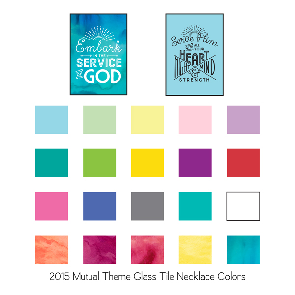 lds young women yw 2015 mutual theme embark necklaces
