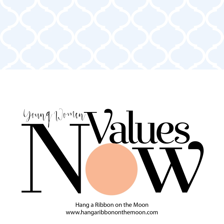 YW Values Now Collection: a suite of LDS Young Women's printables celebrating Personal Progress. Free downloads! Candy-bar wrappers, certificates, newlsetter templates, invites and more!