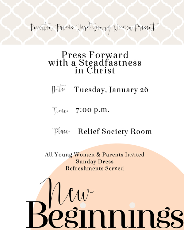YW Values Now Collection: Event Posters. FREE download! Huge collection of printables for YWIE, New Beginnings, Personal Progress and more!