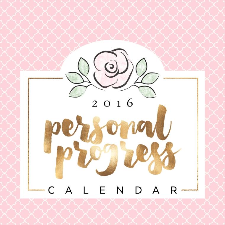 Personal Progress Calendar