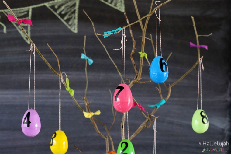 #hallelujah Easter Advent Activities from Sugar Bee Crafts. FREE download!