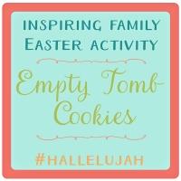 #Hallelujah Empty Tomb Cookies Recipe & Activity Guide