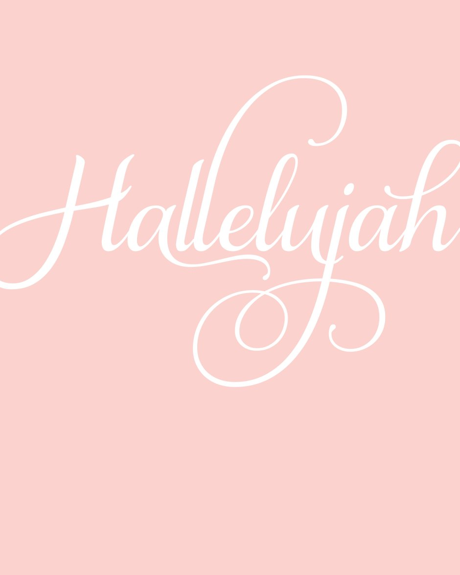 #hallelujah Easter Decor Printables from Paging Supermom. FREE download! Perfect for your home or Church lesson/activity!