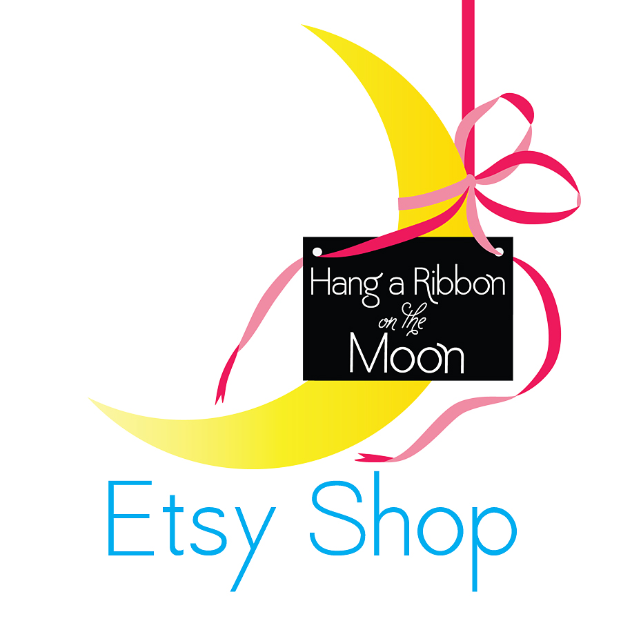 Hang a Ribbon on the Moon Etsy Shop