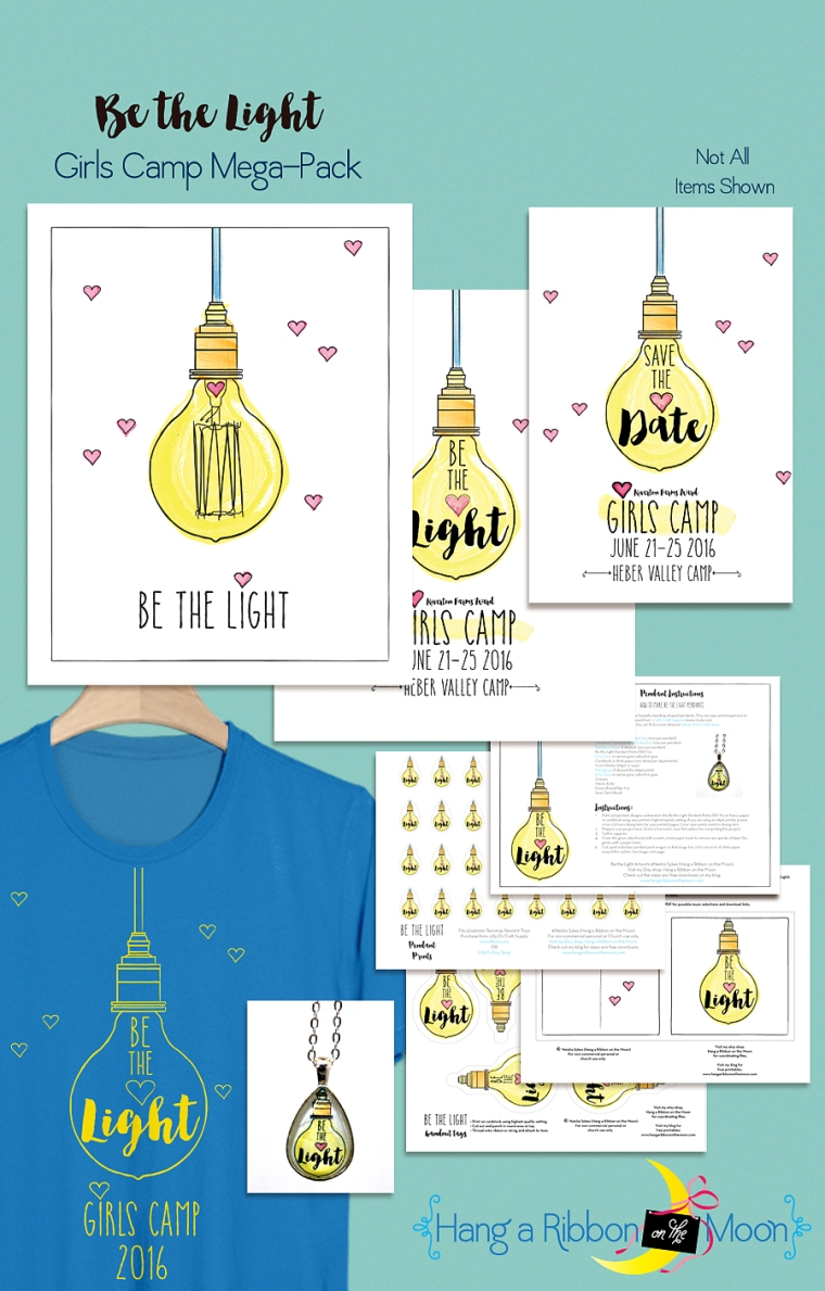 Be the Light Girls Camp Mega Pack