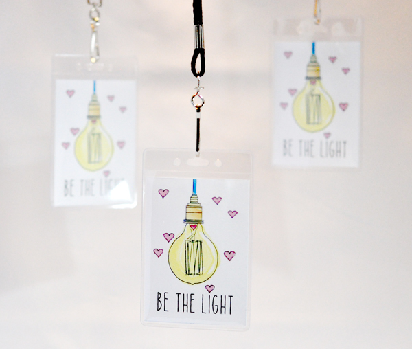 Be the Light Temple Recommend Holders. FREE download! Great gift or handout for YW!