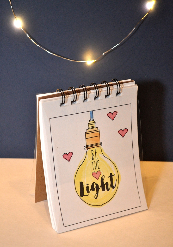 Be the Light Notebooks. FREE download! Perfect for Young Women and Activity Days!