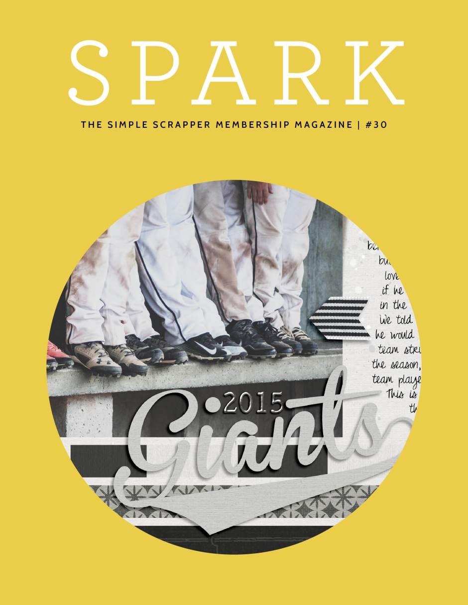 Spark Magazine by Simple Scrapper