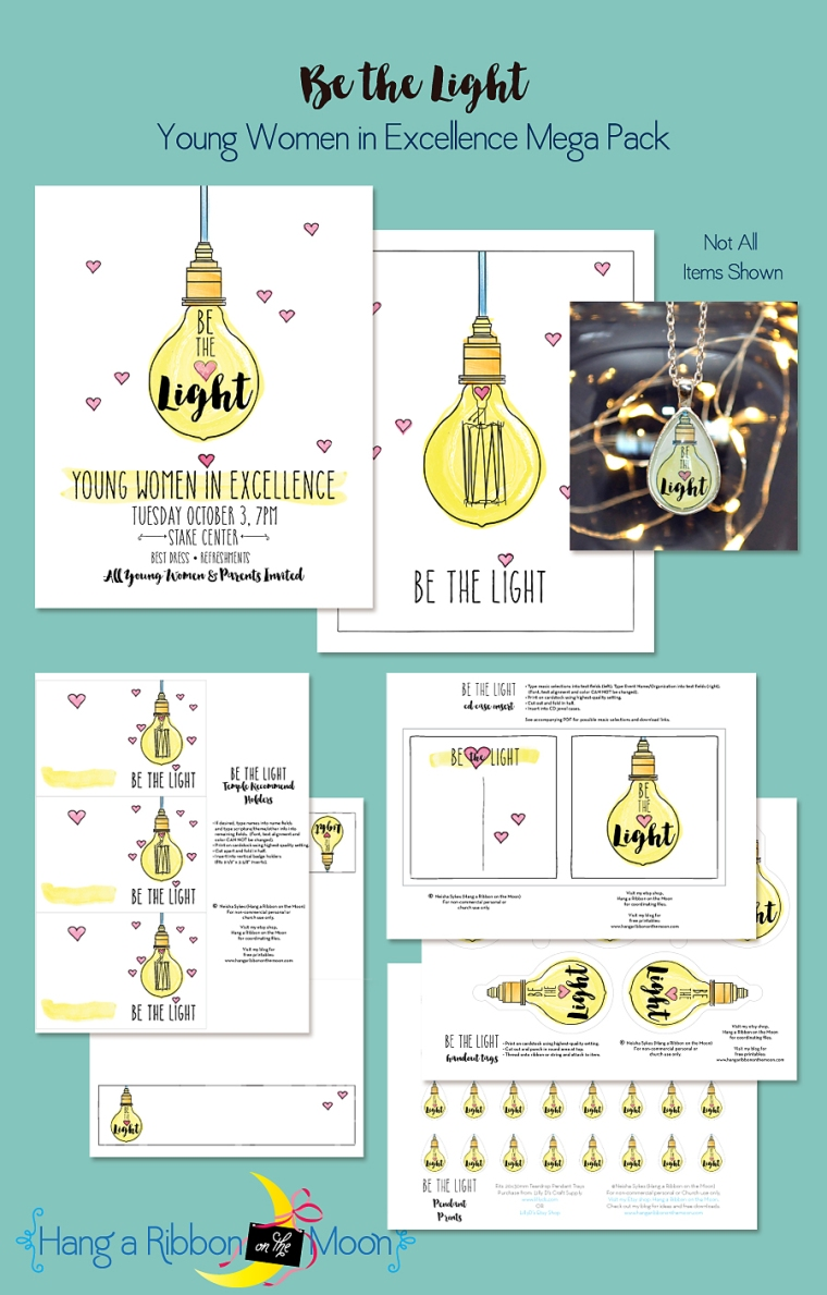 Be the Light Young Women in Excellence Mega Pack