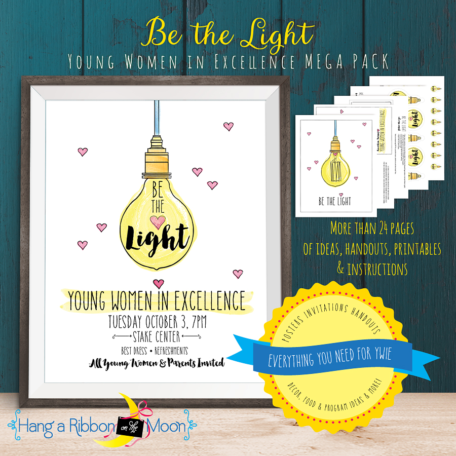 Be the Light: Young Women in Excellence Mega Pack