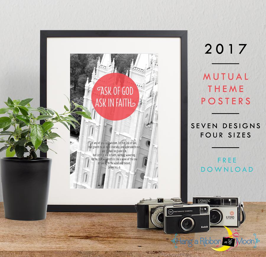 2017 Mutual Theme Photo Posters: Free Download! James 1:5-6