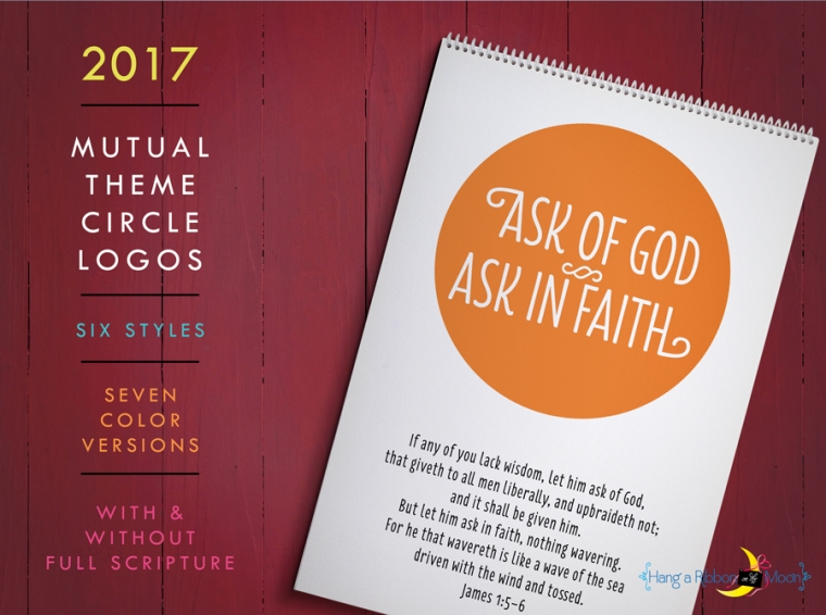 2017 Mutual Theme Double-Exposure Posters. James 1:5-6.