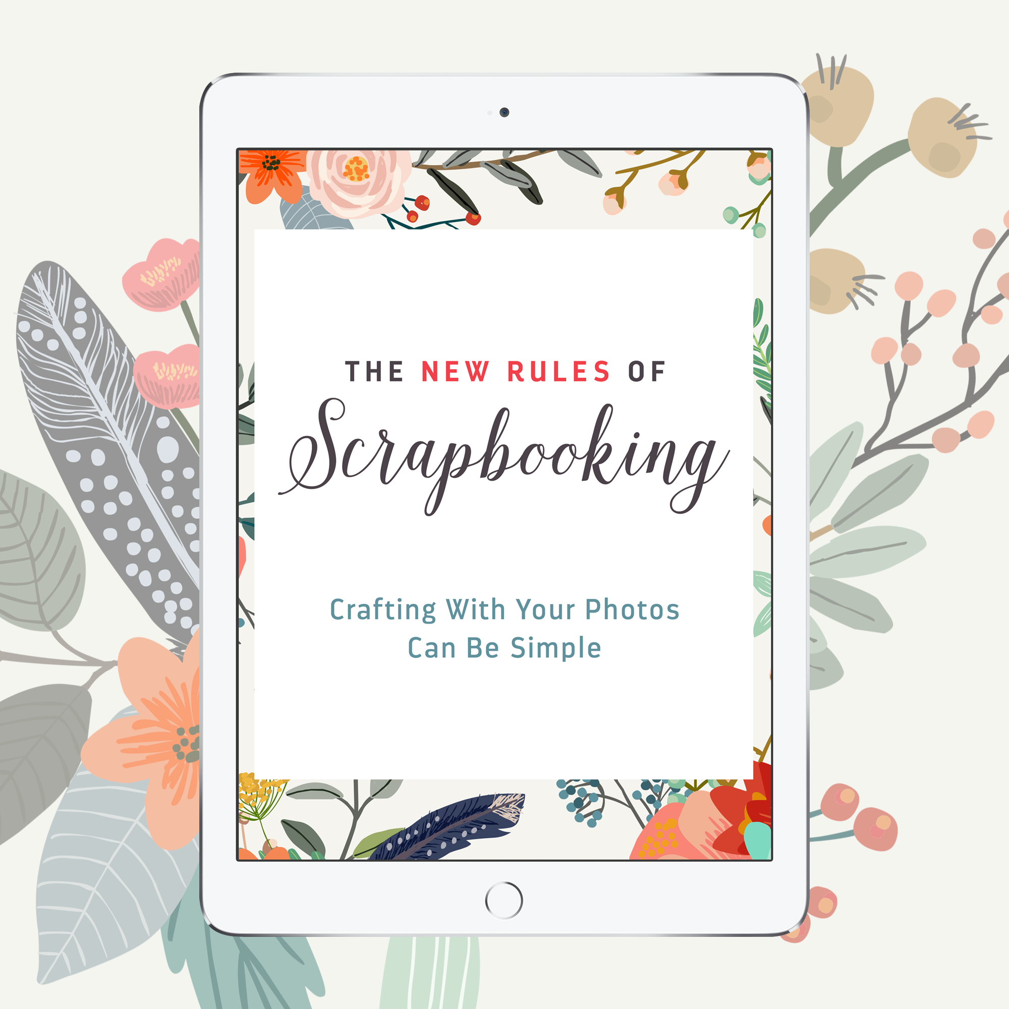The New Rules of Scrapbooking by Jennifer Wilson #SimpleScrapper