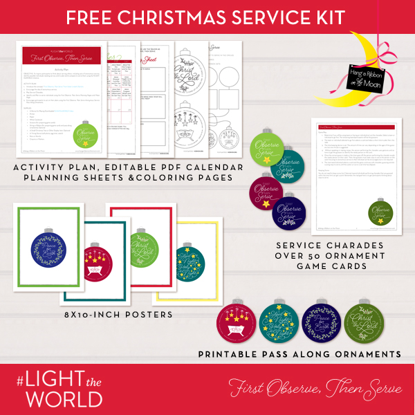 #LIGHTtheWORLD FREE anonymous service kit!