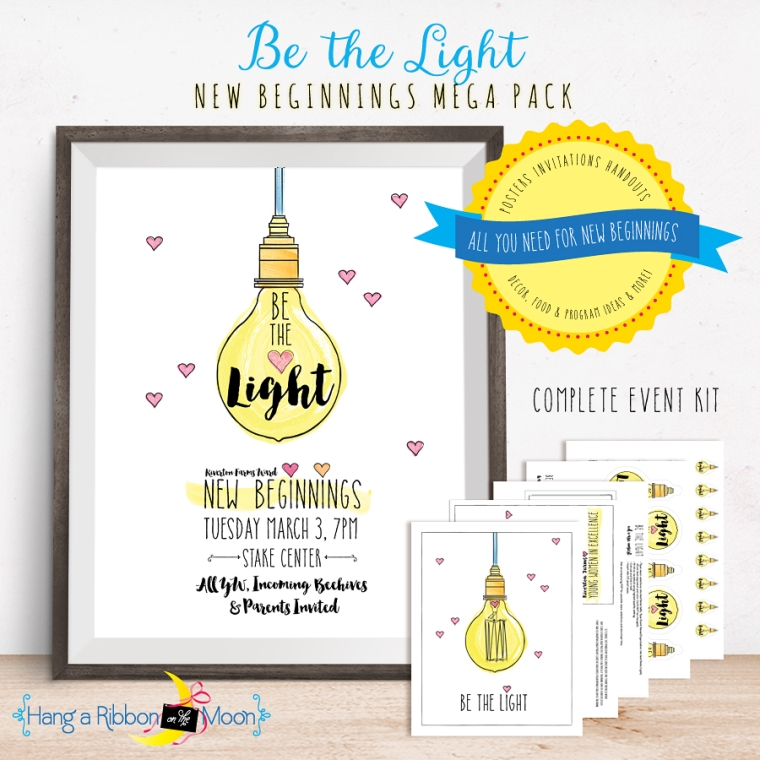 Be the Light: New Beginnings Mega Pack. Everything you need for a fabulous New Beginnings!