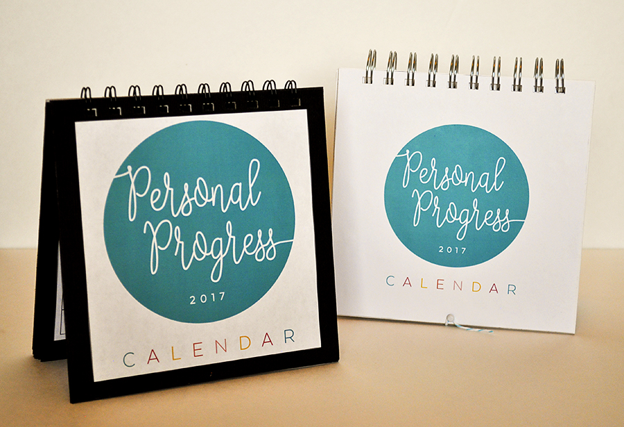 2017 LDS YW Personal Progress Calendar. FREE download!