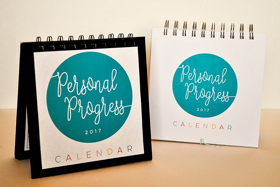 2017 LDS YW Personal Progress Calendar. FREE download!