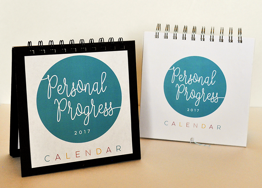 Personal Progress Calendar Free Download  Hang A Ribbon On