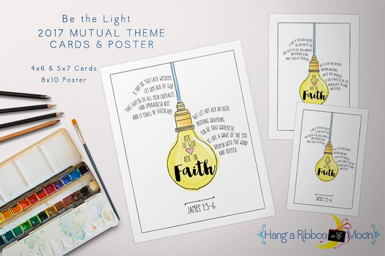 Be the Light: 2017 Mutual Theme Cards & Poster