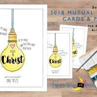 Be the Light: 2018 Mutual Theme Cards [Free Download]