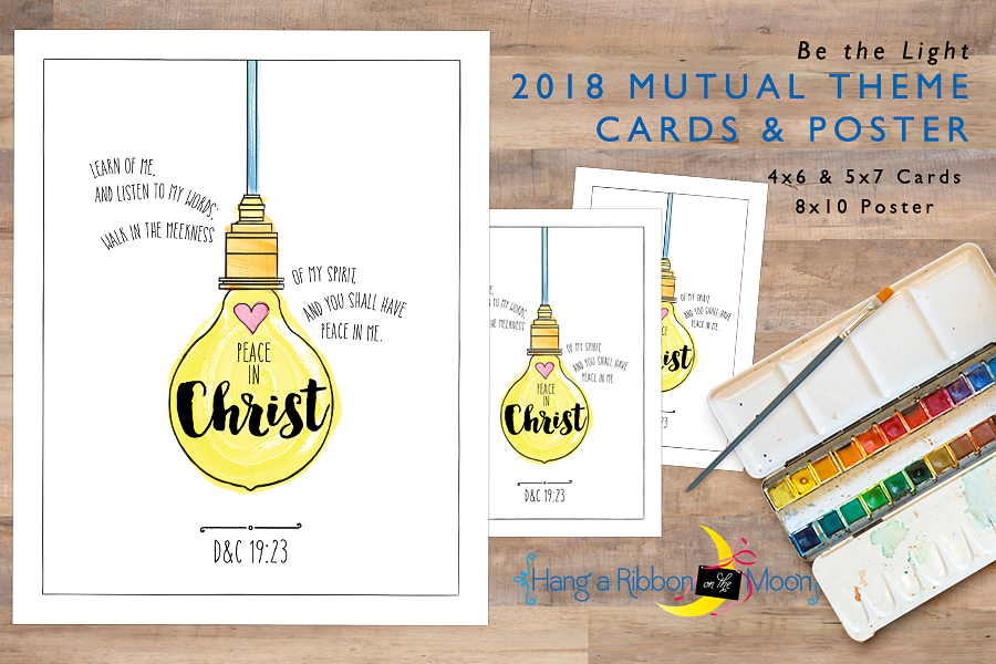 Be The Light 2018 Mutual Theme Cards Free Download
