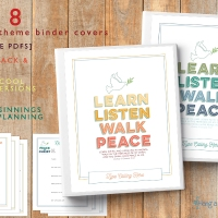 2018 Mutual Theme Binders + BONUS YWIE & New Beginnings Planning Pages