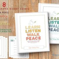 2018 Mutual Theme Binders + BONUS YWIE & New Beginnings Planning Pages