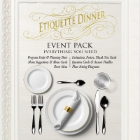 YW & YM Etiquette Dinner Event Pack + Free Download