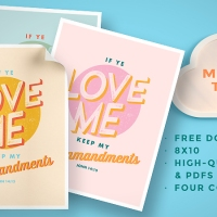 2019 Mutual Theme Posters: Keep My Commandments [Free Download]