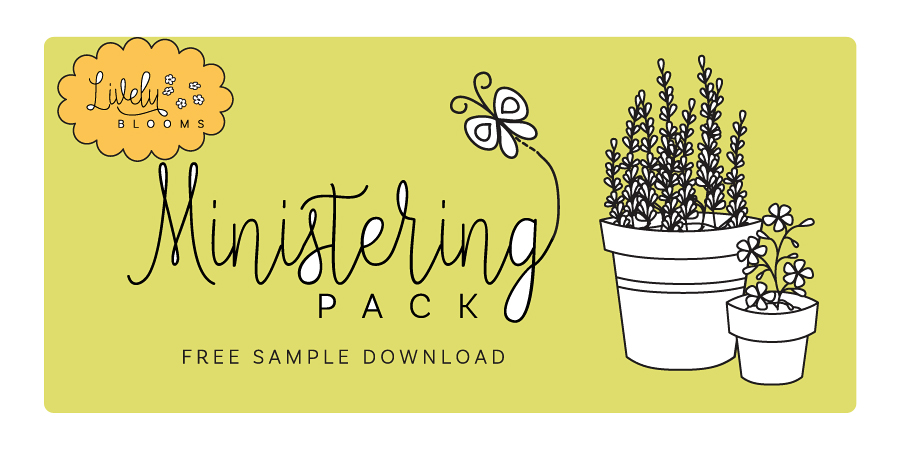 Lively Blooms Ministering Pack + Free Sample Pack