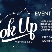 Look Up: YW Girls Camp or Event Pack (Use for Youth Conference, Relief Society or Primary, too!) [Free Sample Download!]